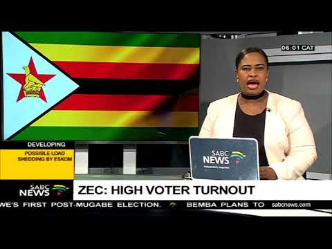 High vote turnout: ZEC