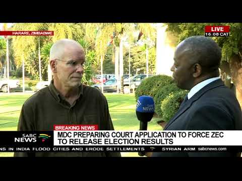 MDC takes ZEC to court election results: Prof David Moore reacts