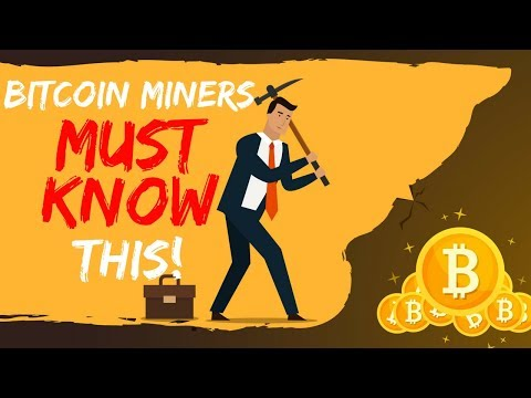 Bitcoin Miners MUST KNOW This! – Today's Crypto News