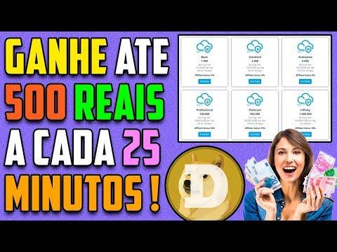 MegaDoge Mineradora Dogecoin / 164 Reais de lucros em 2 dias / Veja !