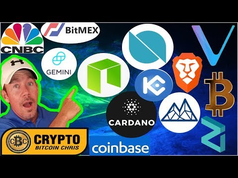 "CNBC:BitMEX CEO predicts $50k BTC!- NEO scaling w/ Trinity!- Line w/200Mil users go ""all in"" Crypto?"