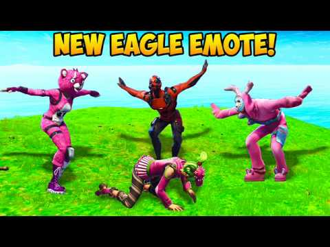 *NEW* EAGLE EMOTE BEST PLAYS! – Fortnite Funny Fails and WTF Moments! #242 (Daily Moments)
