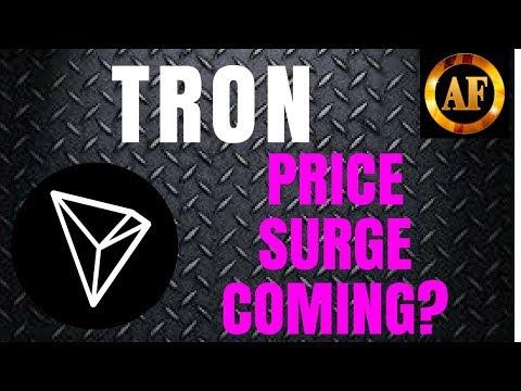 Tron (TRX) – PRICE SURGE COMING – 49 BILLION BURNED – Cardano Partnership?