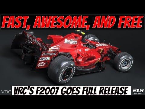 VRC Ferrari F2007 F1 Free Mod (Assetto Corsa Gameplay Replay
