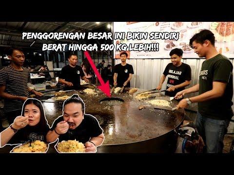 HANYA ADA 1 DI INDONESIA!!! PENGGORENGAN SUPER BESAR UNTUK MASAK NASI GORENG!   Ft. ELISABETH WANG