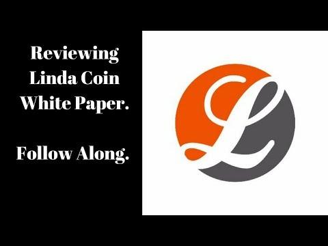 Linda White Paper Review.  Follow Along.