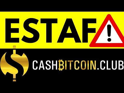 ESTAFA CASHBITCOINCLUB TUTORIAL CASH BITCOIN CLUB NUEVA MONEYFREE