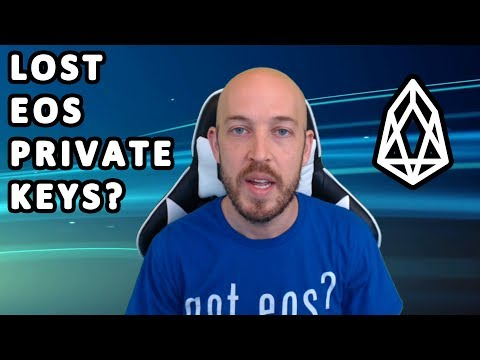 My friend lost 15000 EOS! Proposed Solution for EOS Lost Private Keys After Following Registration