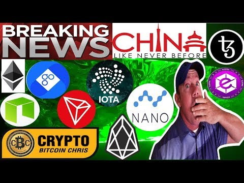 China open to crypto regulations! – Top 10 ICO's Q3/2018! – EOS Whale Watch! – Bitcoin Billionaire!