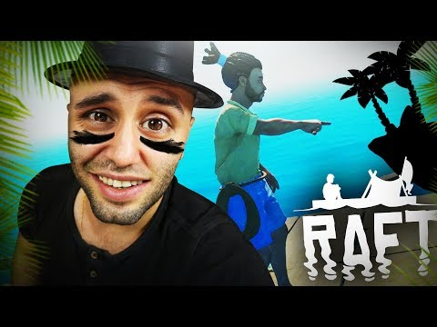 ROZETMENLE EN BÜYÜK TROPİKAL ADA AVI – Raft Survivor Oyun