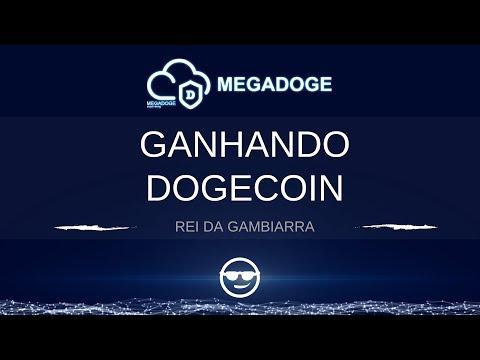 GANHANDO DOGECOIN – NOVA MINERADORA MEGADOGE