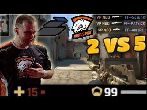 Neo 15 Hp 1 VS 3 Clutch! 2 VS 5 Retake! Virtus.pro Highlights VS Epsilon & Friendly Fire