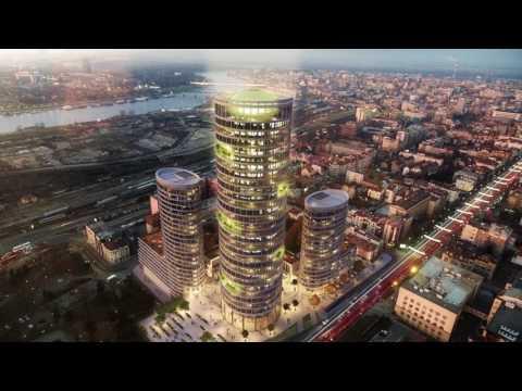 Skyline  Belgrade 2017