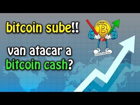 bitcoin sube!!, van atacar a Bitcoin Cash? y criptomonedas en brasil