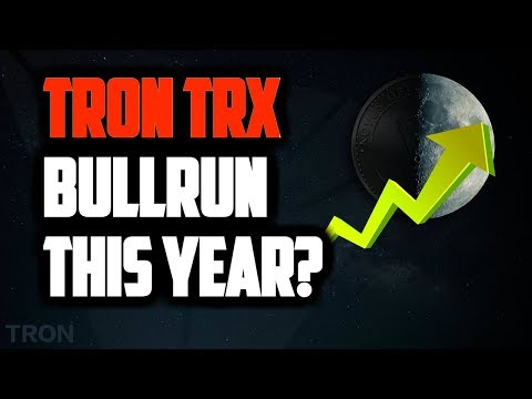 TRON TRX PRICE WILL MOONSHOT IN 2018! TRX NEWS, BITCOIN to $50,000