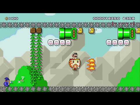 Super Plant-Based World 1-1 by Neo – SUPER MARIO MAKER – NO COMMENTARY
