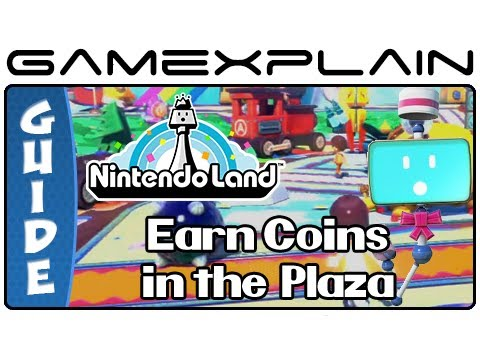 Nintendo Land – Earn Secret Coins in Plaza