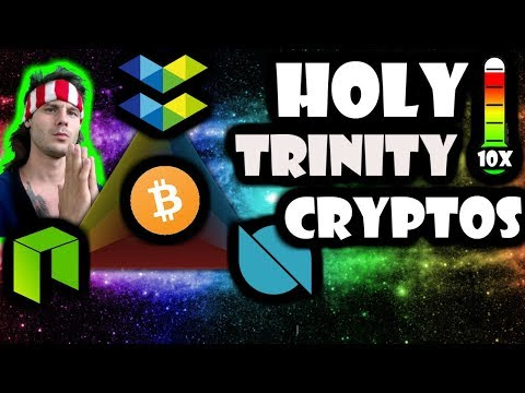 The HOLY Trinity | NEO Ontology Elastos | 10x Next Bull Run | Don't Believe Me Just Watch