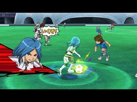 Inazuma Eleven Go Strikers 2013! Neo Genesis Vs Red Team Wii 1080p (Dolphin/Gameplay)