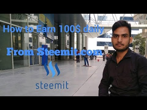 how to post on steemit and earn 100$ daily hindi/urdu