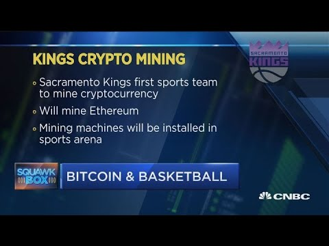 Sacramento Kings are mining cryptocurrency in their arena