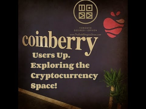 Coinberry Users Up. Exploring the Cryptocurrency Space!