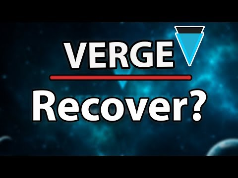 Verge (XVG) Can It Recover? Aiming For The Top!