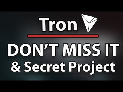 Must Watch! Why Tron (TRX) Won't Stay Cheap & What Is The Secret Project?