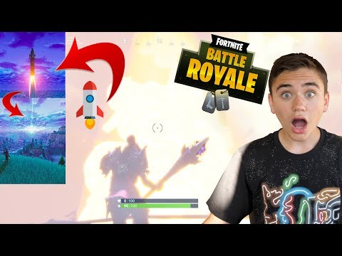 LA FUSÉE DÉCOLLE DEVANT MOI ! FORTNITE BATTLE ROYALE – Néo The One