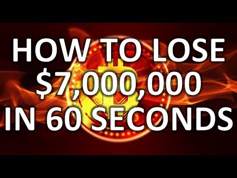 LOSING $7 MILLION IN 60 SECONDS ON SysCoin… Trading Bitcoin On Binance