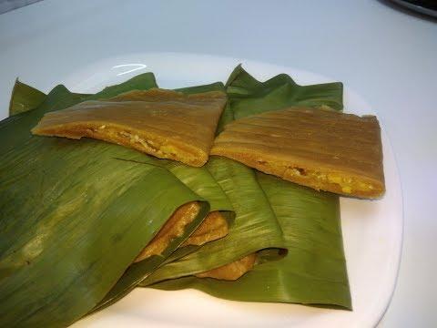 സ്മിതേഷ് അട /Smithesh Ada/ Sweet Snack In Banana Leaves ||| Ep 198