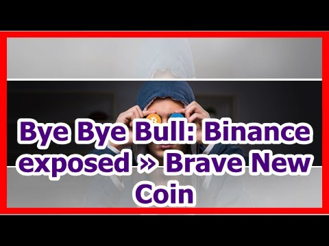 Today News – Bye Bye Bull: Binance exposed » Brave New Coin