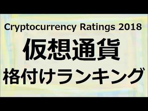 仮想通貨格付けランキング Cryptocurrency Ratings 2018