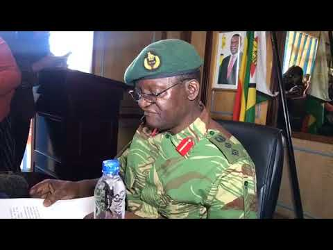 The Army (ZDF) Press Statement On 2018 Elections, Media, ZEC & Duties
