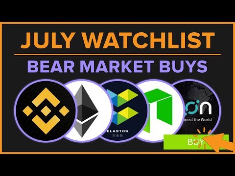 Bear Market BUYS and Why – Icon, $NEO, $ETH, Ontology… July 2018 ?