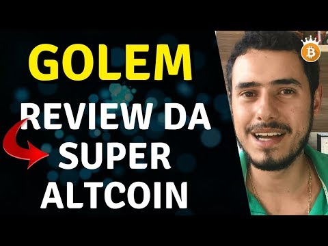 Golem (GNT) 2018 – Alta de 31,05% Em 7 Dias!!!   Gabriel _ Cripto King's