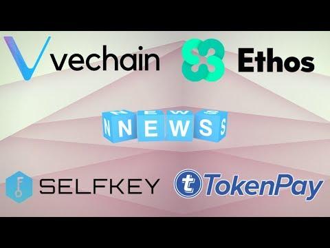 EOS, Ethos, SelfKey, Vechain Thor & TokenPay Updates – Today's Crypto News