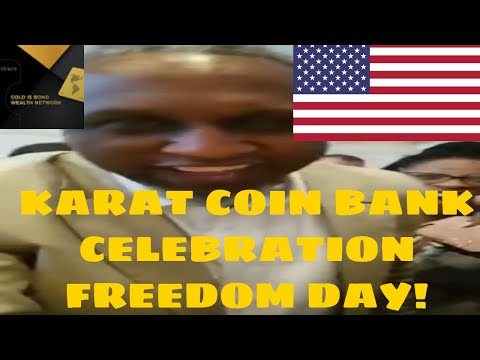 #Karatgold First Cryptocurrency Bank  Karat Coin Bank Opening