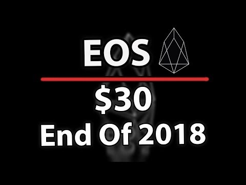 Why EOS Could Still Hit $30 At The End Of 2018