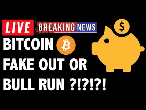 Is This a Bitcoin (BTC) Bull Run or FAKE OUT?! – Crypto Trading Price Analysis & Cryptocurrency News