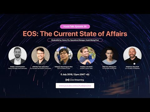 Catch Huobi Talk Ep 36 – EOS: The Current State of Affairs on 5 July at 12pm (GMT+8)!