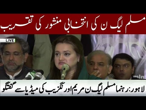Maryam Aurangzab Media talk |m 5 July 2018 | Neo News