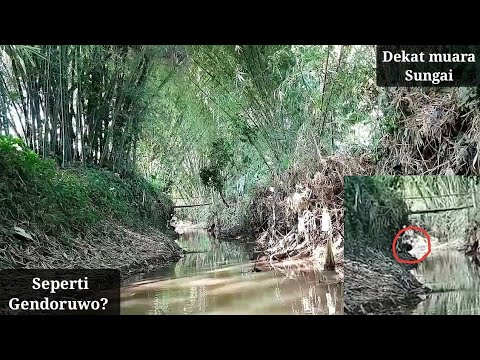Ada penampakan Hitam Besar saat mancing belut di sungai yang jauh dari pemukiman