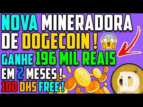 URGENTE ! Nova Mineradora Dogecoin | DogeRush| 100 DHS Free no cadastro !