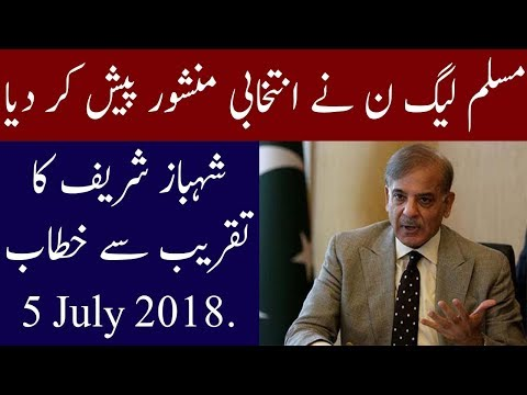 PML-N Manifesto for General Election 2018 | 5 July 2018 | Neo News