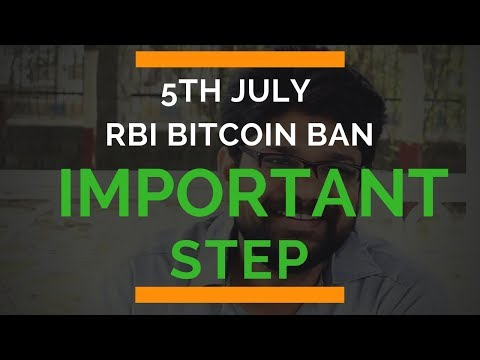 5 july RBI Bitcoin Ban | सबसे पहले करे ये काम | Bitcoin News crypto update INDIA
