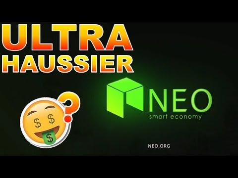NEO UTLRA HAUSSIER !? analyse technique prédiction prix crypto monnaie fr français