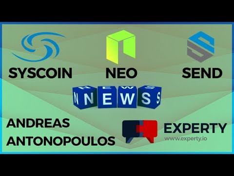 Syscoin #SAFU, Experty App, NEO, Social Send & ECA + New Listings! – Today's Crypto News