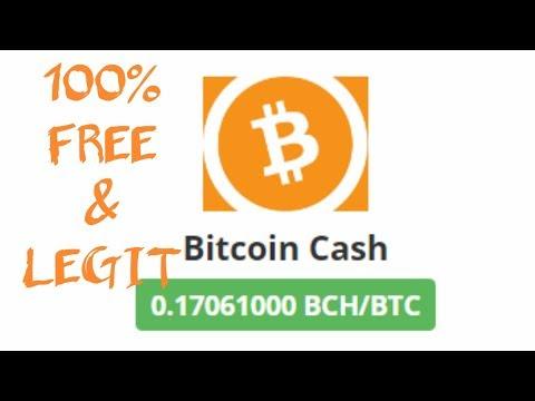 Bitcoin Cash BCH Gratis Tanpa Deposit, Tanpa Investasi 20K/2Hari Langsung Withdraw 100% Free + Legit