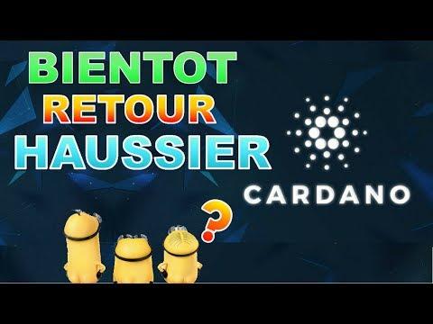 CARDANO BIENTOT HAUSSIER  ?! ADA analyse technique prédiction prix crypto monnaie fr français